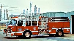 Amoco Oil Fire Department / Chocolate Bayou