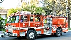 LAFD Fire