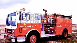 Shell Oil Refinery Fire Department