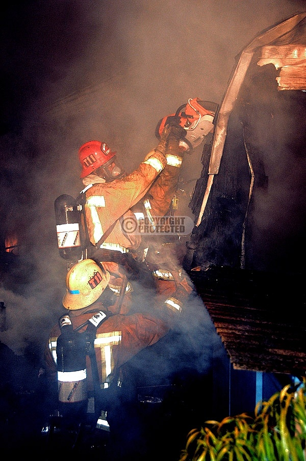 6.25.2007 Old Mill Incident