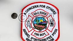 GILA RIVER Fire