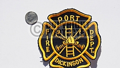 Port Dickinson Fire