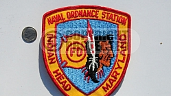 Indian Head Naval Station Fire