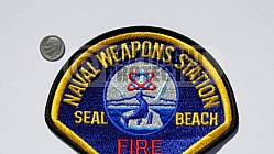 Seal Beach Naval Weapons Station Fire