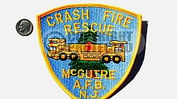 McGuire AFB Fire